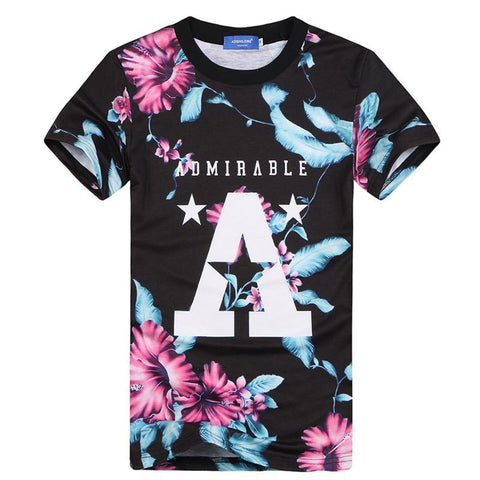 ADMIRABLE FLORAL T-Shirt - Superior Apparel