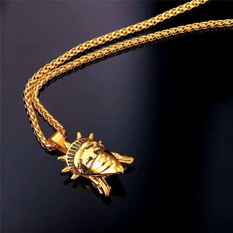 American Rebel 18K Pendant Necklace