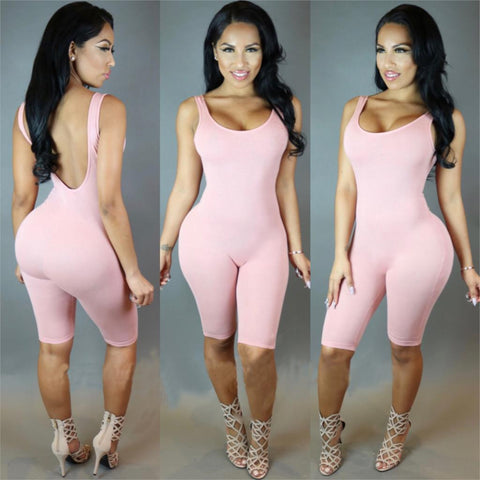 2016 short romper one piece bodysuit (Available 4 colors) - Superior Apparel