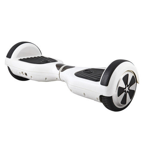 Speedway White HoverBoard
