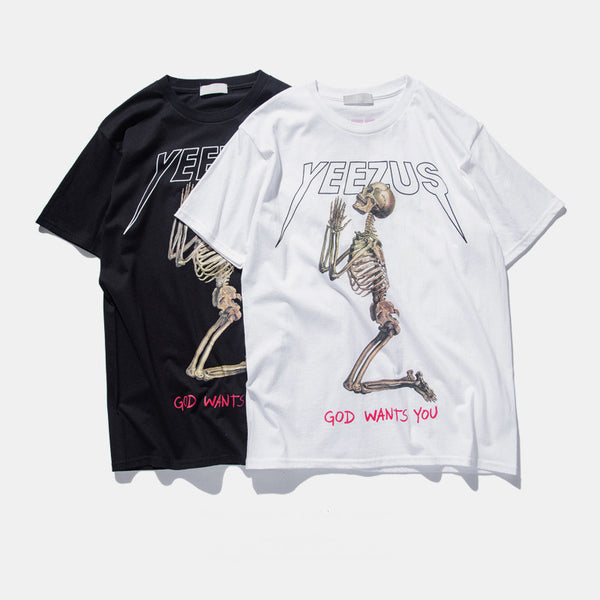 Yeezus T Shirts (Available in Black or White)