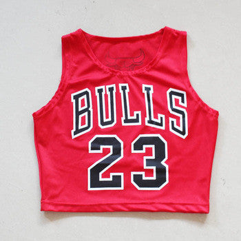 Custom #23 Crop Top