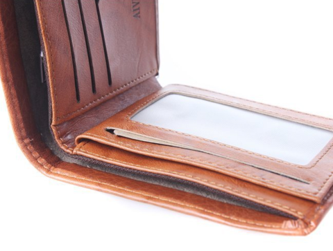 100 Dollar Bill Leather Wallet
