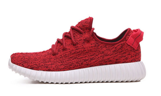 Custom Red Yeezy Boost 350 Low