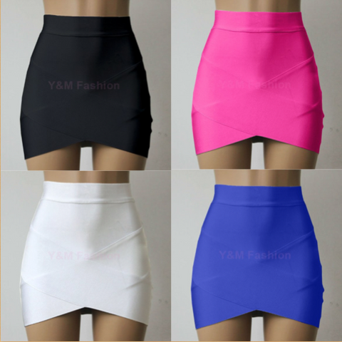 High Waist Bandage Skirt (4 colors) - Superior Apparel