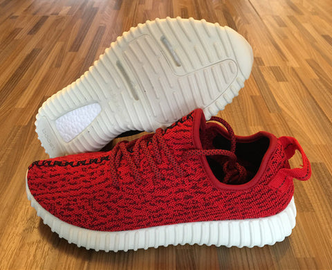 Custom Red Yeezy Boost 350 Low - Superior Apparel