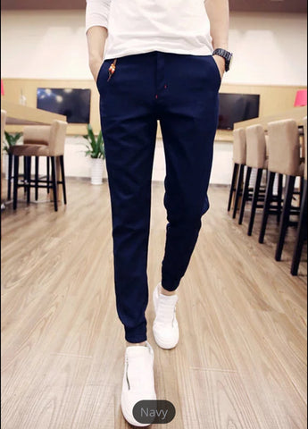 CASUAL SPRING SOLID JOGGERS (Available 5 colors)