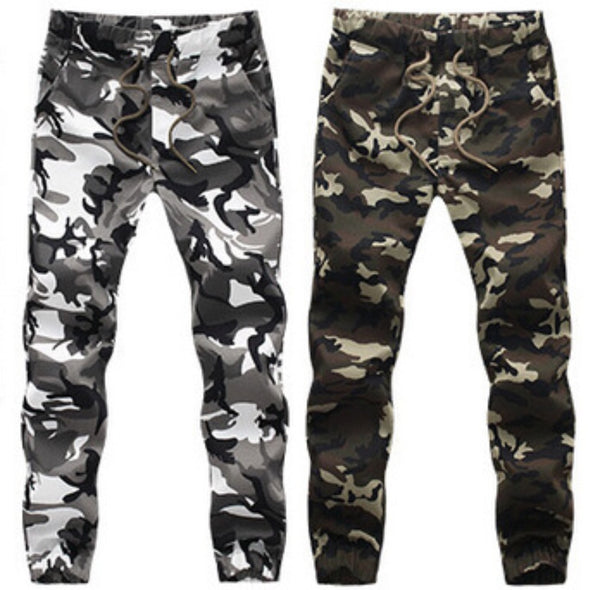 ARMY FASHION CAMO JOGGERS (2 available colors)