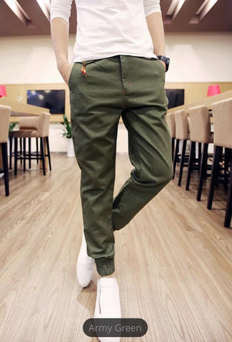 CASUAL SPRING SOLID JOGGERS (Available 5 colors) - Superior Apparel