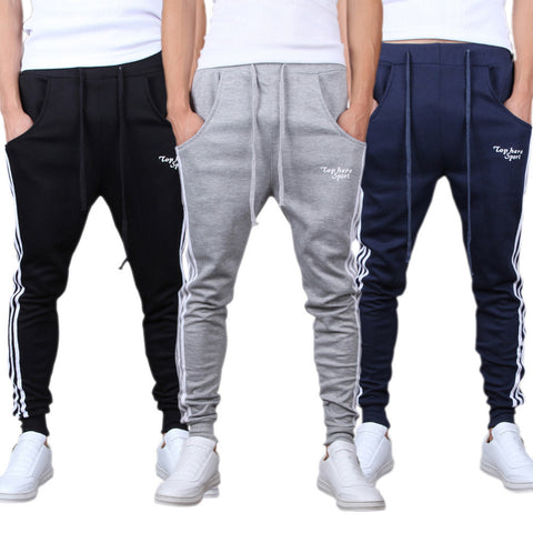 TOP HERE STRIPED JOGGERS (Available 3 colors)