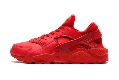 CUSTOM RED AIR HUARACHES