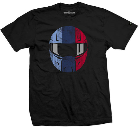 Tri-Color Helmet Shirt