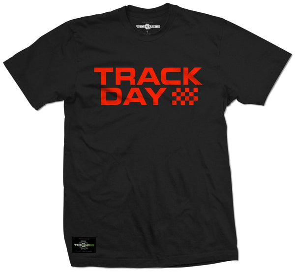 Black/Red T88 Track Day Tee