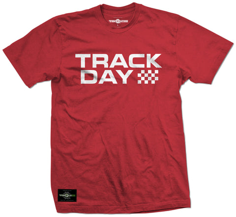 Red/White T88 Track Day Tee