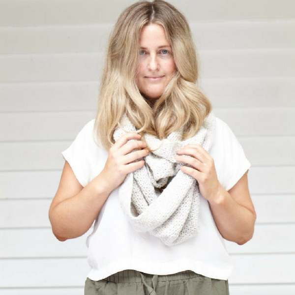 Scarf / Wrapture top by Pony McTate | Plump & Co X Wool days