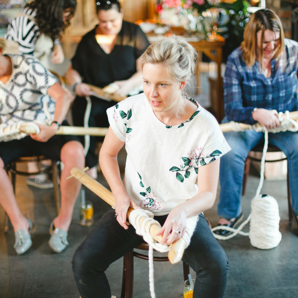 Learn to knit using giant yarn and XXL knitting needles at Plump & Co giant knitting workshops. Plump & Co workshops available nationwide in New Zealand, Australia, USA and more. Our chunky yarns and needles are made in New Zealand.