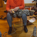 Learn to knit using giant yarn and XXL knitting needles at Plump & Co giant knitting workshops. Plump & Co workshops available nationwide in New Zealand, Australia, USA and more. Our yarns and needles are made in New Zealand.
