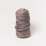 Plump & Co's giant yarn in grey 2 ply. Use our plumptious XXL New Zealand merino wool with our giant knitting needles or extreme crochet hooks to make your own chunky knit blanket or throw. Individual bumps and extreme knitting kits available. Worldwide shipping, free shipping to New Zealand and Australia!