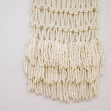 Create this chunky large wall hanging using our chunky wool merino bumps of Plump & Co 1 ply yarn, with Giant crochet hook from Plump & Co. In New Zealand and Australia. With chunky wool merino knits and layers of textures for your home inspiration.