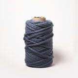 Plump & Co's giant yarn in Blue Berry 2 ply. Use our plumptious XXL New Zealand merino wool with our giant knitting needles or extreme crochet hooks to make your own chunky knit blanket or throw. Perfect for arm knitting. Worldwide shipping, free shipping to New Zealand and Australia!