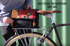 How to Use the Kickstand Bike Bag