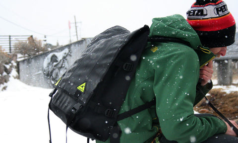 Ruckus Backpack in the Snow