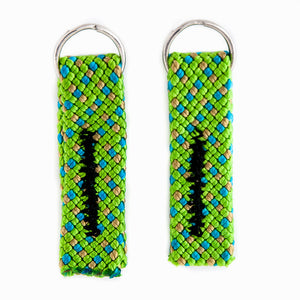 climbing rope zipper pulls upcycled recycled cool