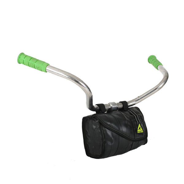 bike handlebar cooler bag made in usa from upcycled materials