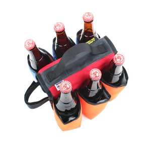 Sixer 6-Pack Insulated Top Tube Caddy