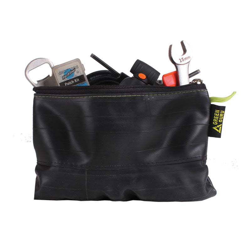 43fc31572 zipper pouch made from upcycled bike tubes in colorado by green guru gear  grand size