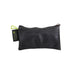 green guru small zipper pouch rear view rubber black sustainable eco vegan