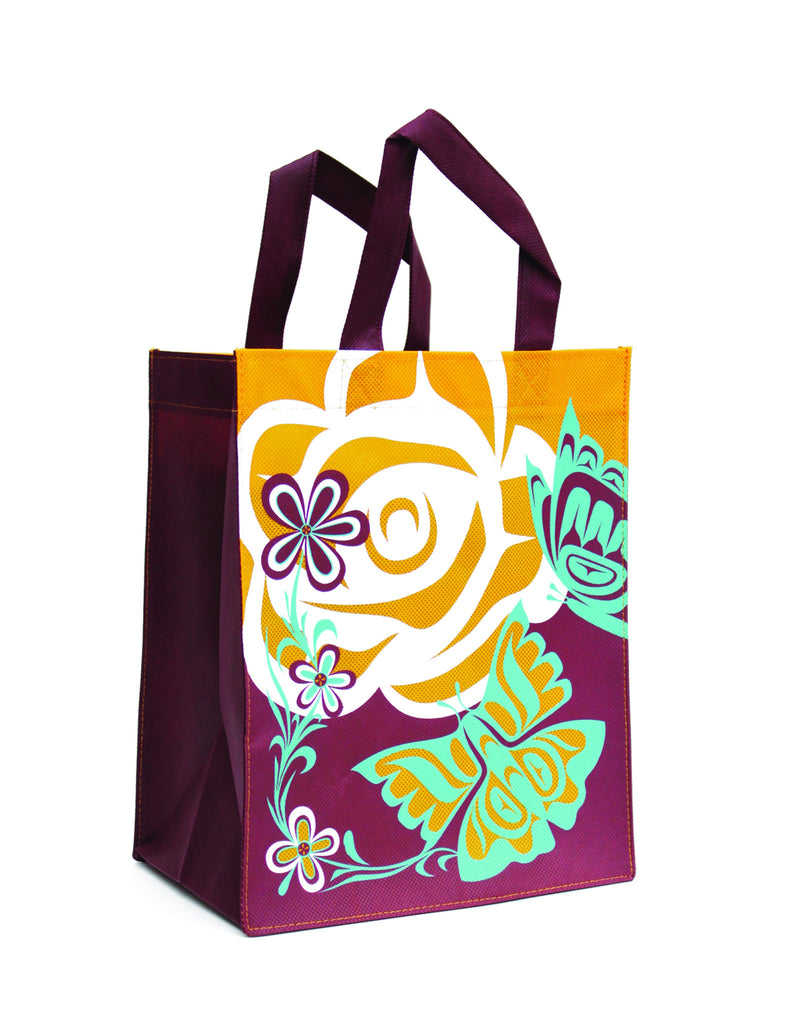 Small Eco Bag - Butterflies by Paul Windsor