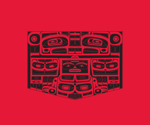 Printed Blanket - Chilkat Thunderbird by Corey Bulpitt