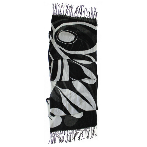 Bamboo Scarf - Power Within by Ryan Cranmer