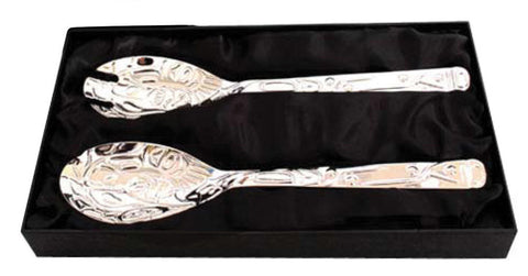 Silver Servers - Salmon by Paul Windsor (Black Box)