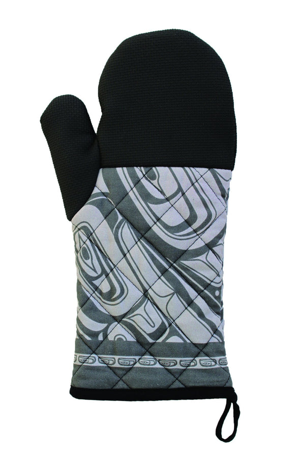 Oven Mitt - Pacific Spirit by Morgan Green