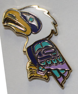 Enamel Pin - Eagle by Ben Houstie, Bella Bella