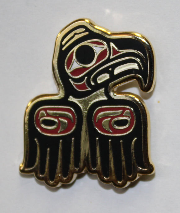 Enamel Pin - Eagle Tradition by Donnie Edenshaw