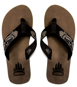 Flip Flop Sandal - Eagle by Chris Kewistep