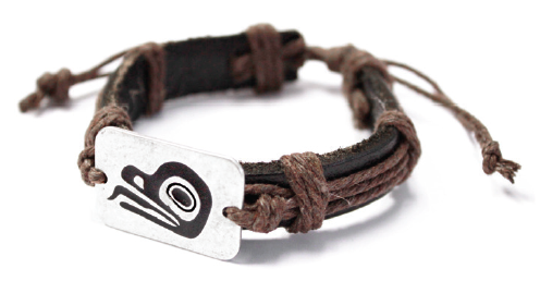 Leather Bracelet - Frog by Ben Houstie