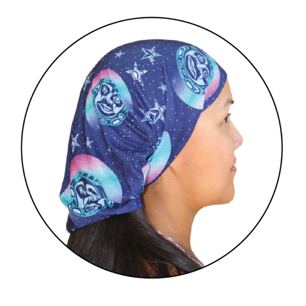 Multifunctional headwear among the stars by paul windsor native northwest canada - New uses for the multifunctional spray ...