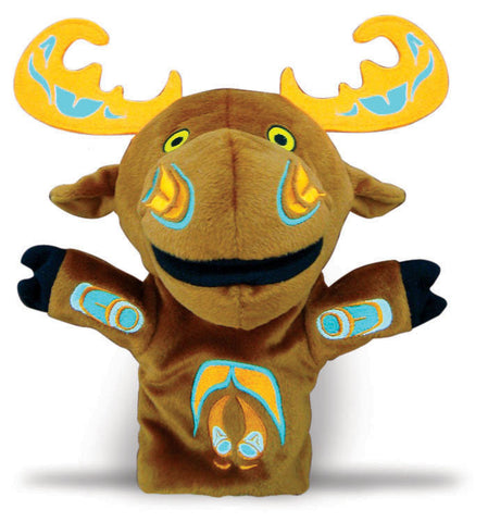 Puppet - Mo the Moose by Paul Windsor