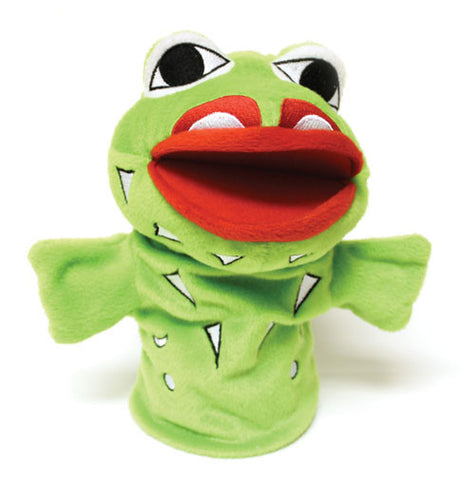 Puppet - Wakus the Frog by Doug LaFortune
