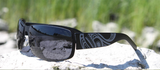 Metal Frame Sunglasses - Killer Whale by Trevor Angus
