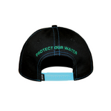 Snapback Cap - Protect Our Water by Corey Bulpitt