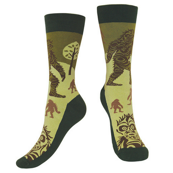 Art Socks - Sasquatch by Francis Horne Sr.