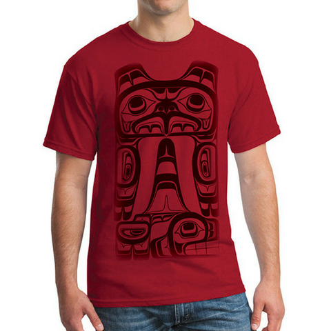 T-shirt - Eagle and Whale by Roger Smith