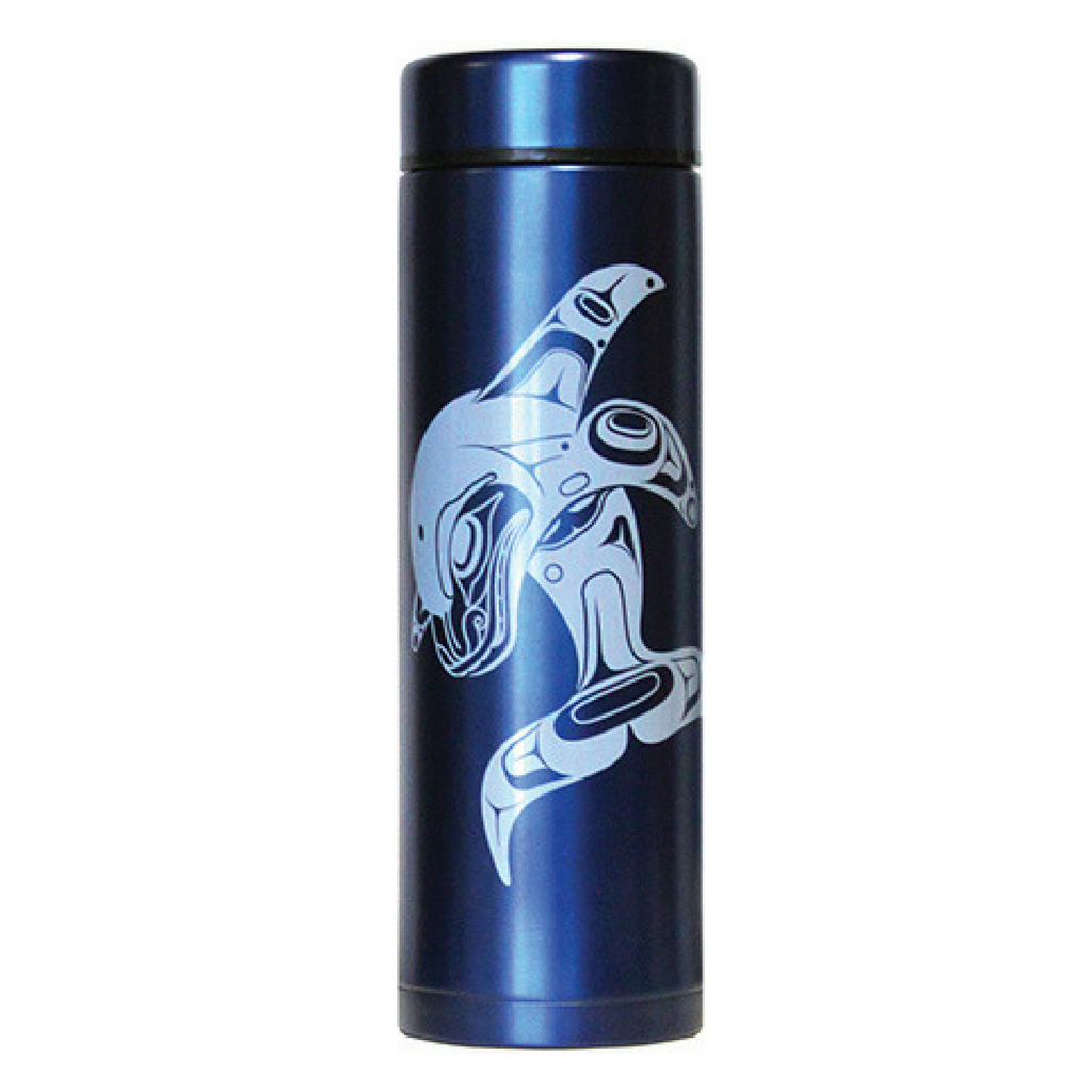 Insulated Tumbler - Whale Tradition by Marcel Russ