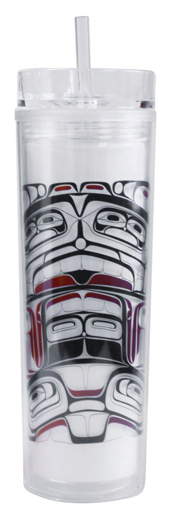 Acrylic Tumbler - Sharing Traditions by Corey Bulpitt
