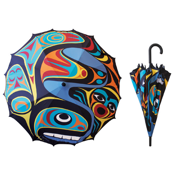 Umbrella - Whale by Maynard Johnny Jr.